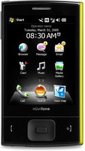 garmin-asus nuvifone m20 yellow