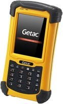 GETAC PS236 FRONT ANGLE YELLOW