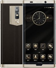 GIONEE M2017 GOLD  FRONT BACK