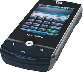 HP IPAQ DATA MESSENGER RIGHT FRONT