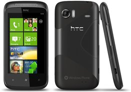 HTC 7 MOZART FRONT BACK SIDE