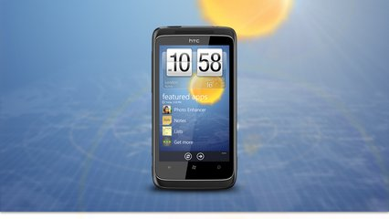 HTC 7 TROPHY FRONT 2