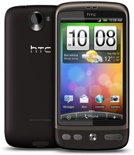 HTC DESIRE BACK FRONT