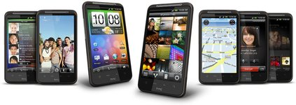 HTC DESIRE HD ALL