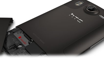 htc desire hd back angle