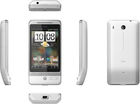 htc hero white dimensions