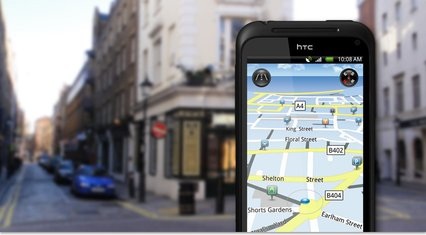 HTC INCREDIBLE S GPS