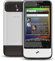 htc legend back front