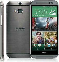HTC ONE M8 FRONT BACK LEFT