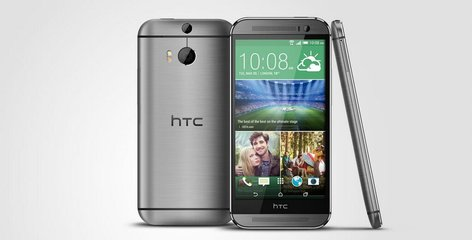 HTC ONE M8 FRONT BACK RIGHT