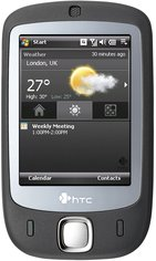 htc touch p3450 front