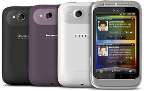 HTC WILDFIRE S COLOURS
