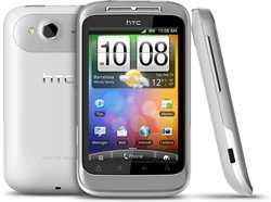 HTC WILDFIRE S WHITE BACK FRONT SIDE