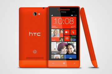 htc windows phone 8s 3v red