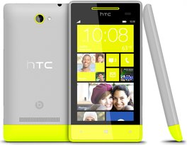htc windows phone 8s 3v yellow