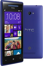 HTC WINDOWS PHONE 8X FRONT BACK