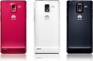 HUAWEI ASCEND P1 S U9200 BACK COLORS