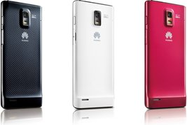 HUAWEI ASCEND P1 S U9200 BACK LEFT COLORS