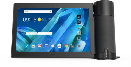 lenovo moto tab 10a home assist front forward facing