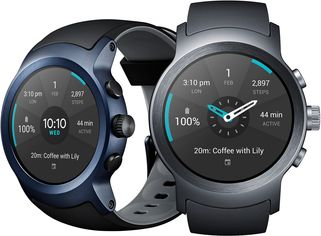 LG WATCH SPORT COLORS ANGLE
