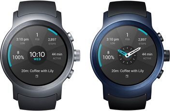 lg watch sport front colors