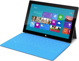 MICROSOFT SURFACE TABLET BLUE KEYBOARD