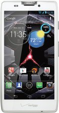 MOTOROLA DROID RAZR HD WHITE FRONT HERO VZW 2