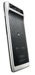 MOTOROLA DROID RAZR XT912 WHITE LEFT BACK