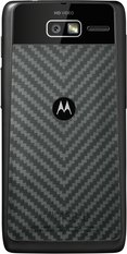 MOTOROLA RAZR M BLACK BACK ROW