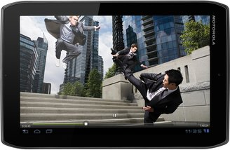 MOTOROLA XOOM2 MEDIA EDITION FRONT HORIZ MOVIE