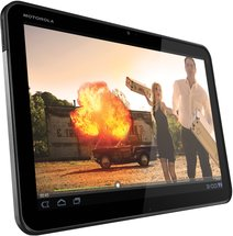 MOTOROLA XOOM WIFI GRAY DYN LEFT HORIZ MOVIE