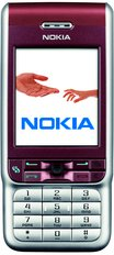 NOKIA 3230 FRONT PURPLE