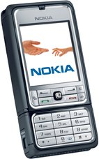 NOKIA 3250 FRONT ANGLE SILVER