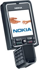 NOKIA 3250 ROTATED BLACK