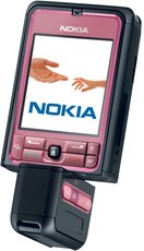 NOKIA 3250 ROTATED PINK
