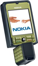 NOKIA 3250 ROTATED SILVER