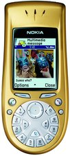 NOKIA 3650 FRONT GOLD