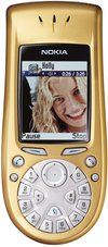 NOKIA 3650 FRONT GOLD 1