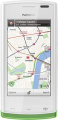 NOKIA 500 WHITE MAPS