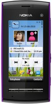 NOKIA 5250 FRONT PURPLE