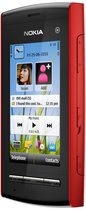 nokia 5250 front right red