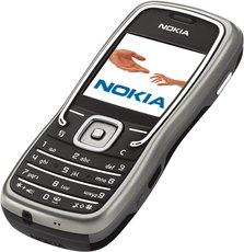 NOKIA 5500 FRONT ANGEL SPORT BLACK