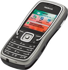 NOKIA 5500 FRONT ANGEL SPORT BLACK 1