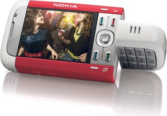 NOKIA 5700 XPRESS MUSIC RED ROTATAD