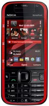 NOKIA 5730 XPRESS MUSIC RED FRONT