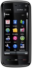 nokia 5800 xpress music front black