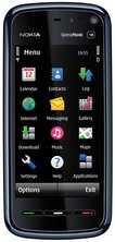 nokia 5800 xpress music front black 1