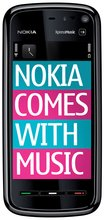nokia 5800 xpress music front black 2