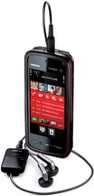 nokia 5800 xpress music with headset