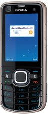 NOKIA 6220 CLASSIC FRONT ANGLE 2